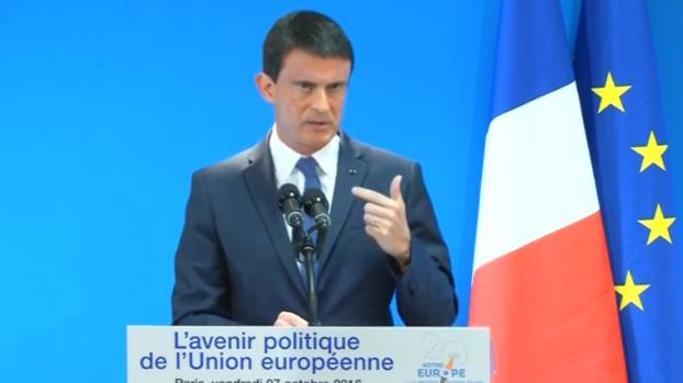 Thủ tướng Pháp bất đồng với Berlin về mục tiêu tăng trưởng