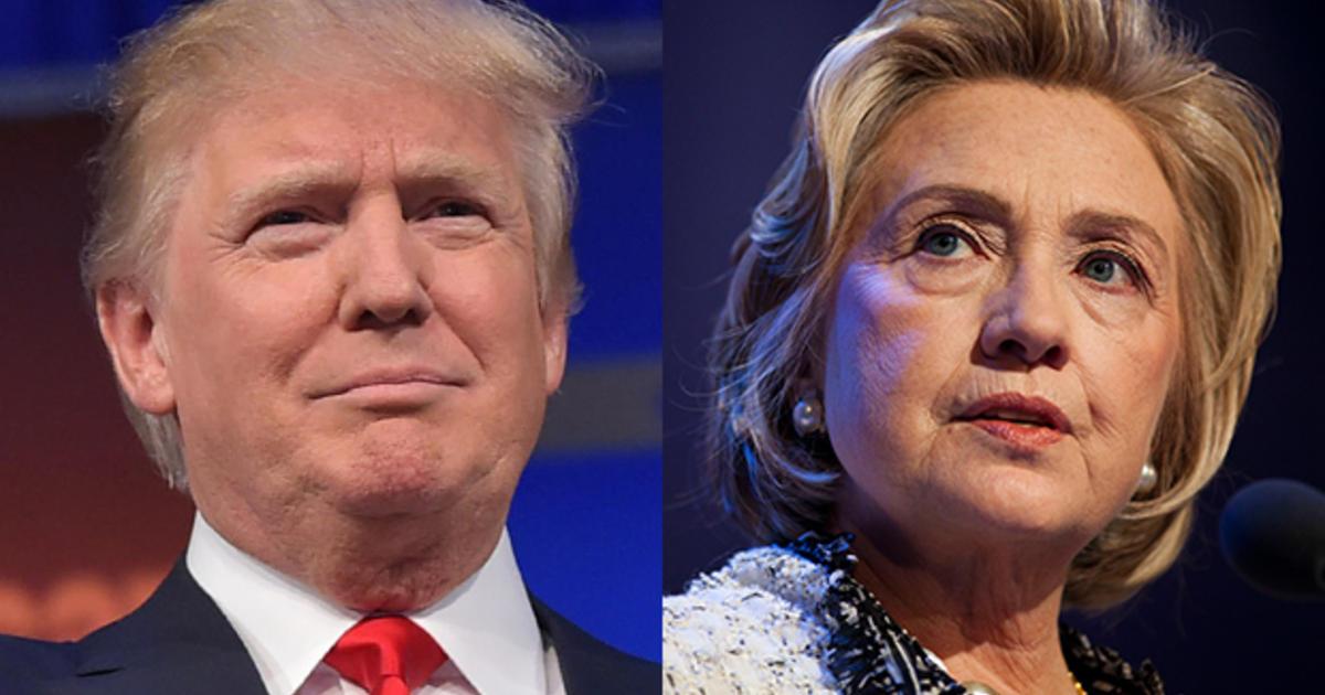Khoảng cách thu hẹp giữa Hillary Clinton & Donald Trump