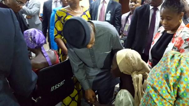 21 thiếu nữ Chibok bị bắt cóc được trả tự do