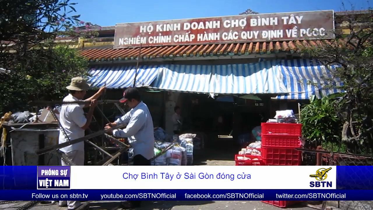 Chợ Bình Tây ở Sài Gòn đóng cửa để sửa chữa, nâng cấp sau hơn 90 năm