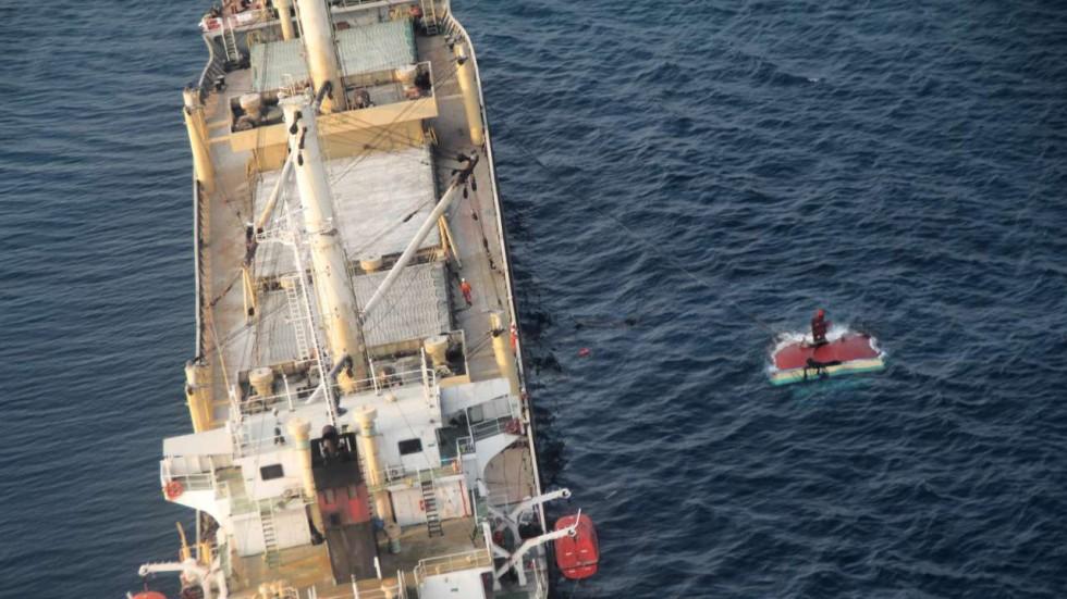 Tàu hàng Việt Nam tông thuyền buồm Indonesia, 3 người chết, 12 người mất tích