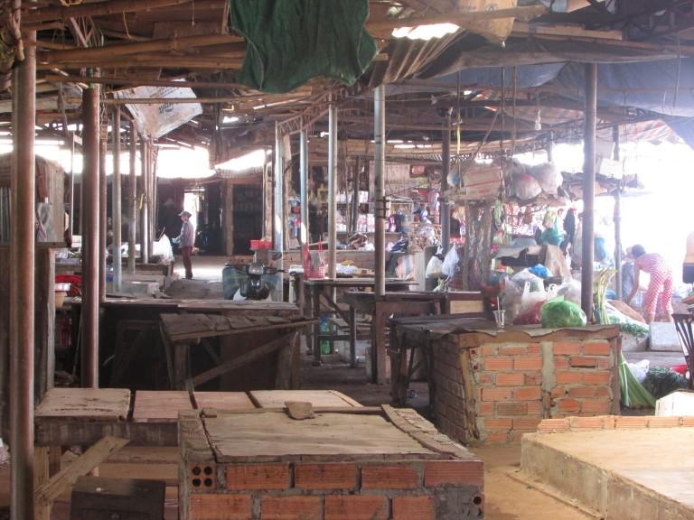 Công an cưỡng chế chợ Vĩnh Tân – Đồng Nai