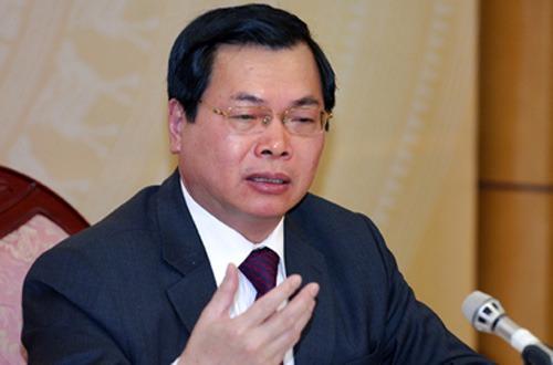 Quốc hội CSVN muốn hình sự hóa vụ ông Vũ Huy Hoàng