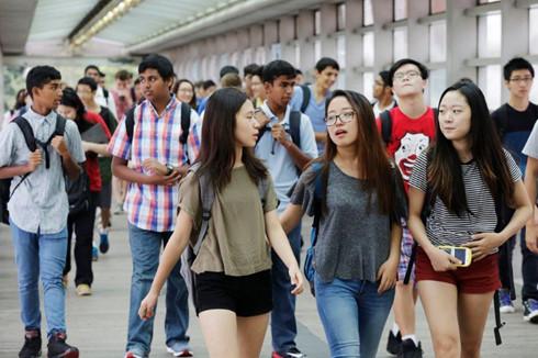Số lượng sinh viên Việt Nam du học Hoa Kỳ đứng hàng thứ 6