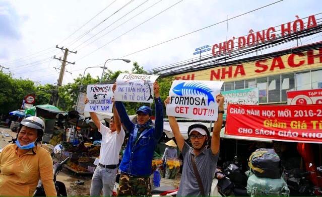 Hà Tĩnh kết án 4 người biểu tình chống Formosa