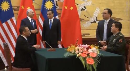 Malaysia ký thoả thuận để mua 4 tàu chiến từ Trung Cộng