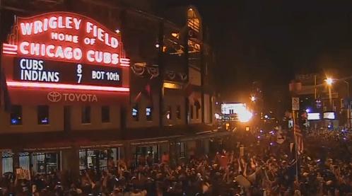 Chicago Cubs lần đầu chiến thắng giải World Series sau 108 năm