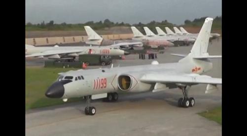 Trung Cộng khoe máy bay ném bom chiến lược mới