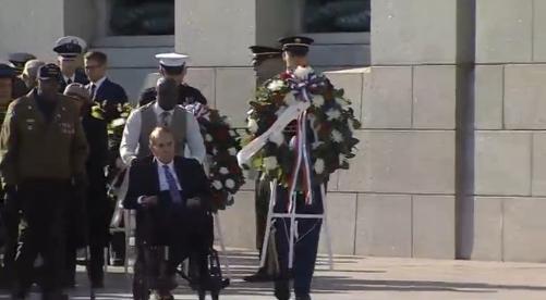 Các cựu quân nhân Đệ Nhị Thế Chiến kỷ niệm ngày Cựu Chiến Binh