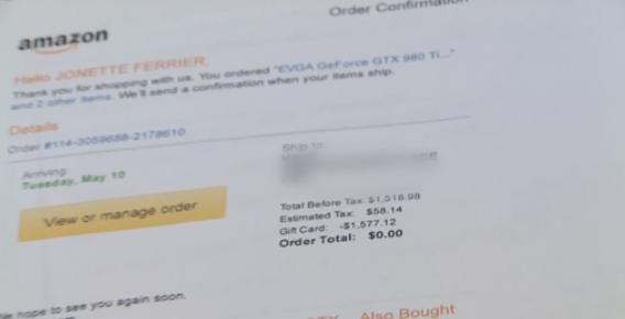 Cảnh báo hacker đột nhập vào tài khoản Amazon lấy tiền