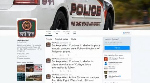 Nổ súng ở đại học Ohio, 8 người bị thương