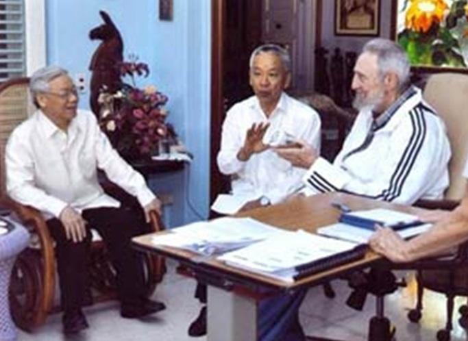 Fidel Castro qua đời và Việt Nam (Song Chi)