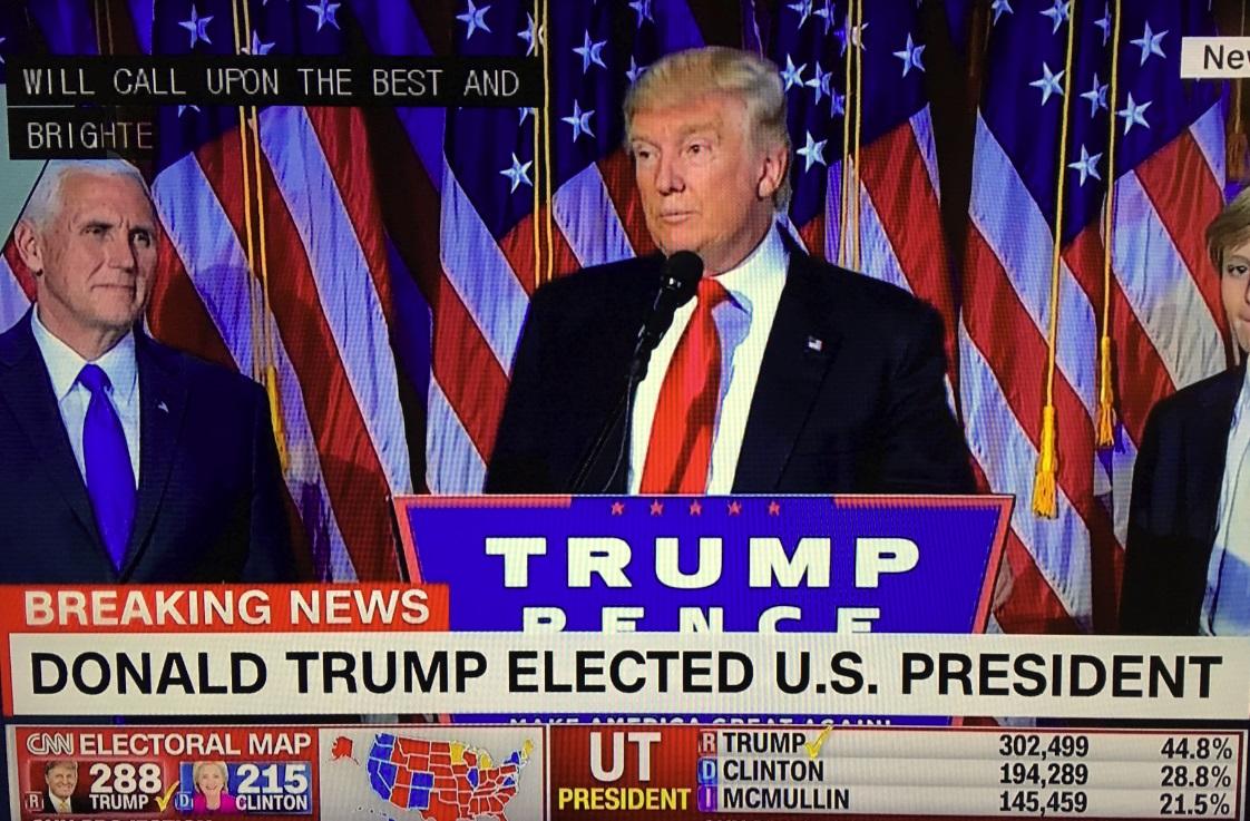 LIVE: Kết quả bầu cử Thổng Thống Hoa Kỳ 2016