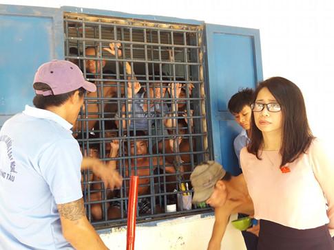 Hàng trăm con nghiện ở Bà Rịa-Vũng Tàu phá trại bỏ trốn