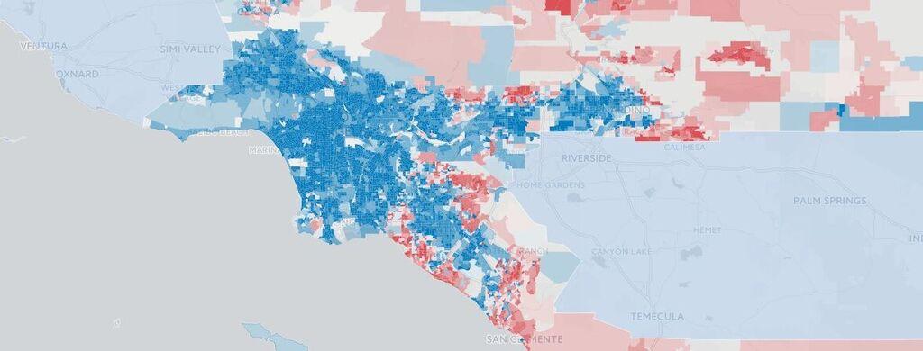 California trở thành kẻ ngoài cuộc trong chính trị Mỹ, quận Cam ngã về đảng Dân Chủ