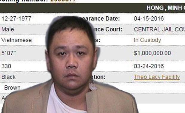 Minh Béo bị tòa Quận Cam tuyên 18 tháng tù, sắp bị trục xuất