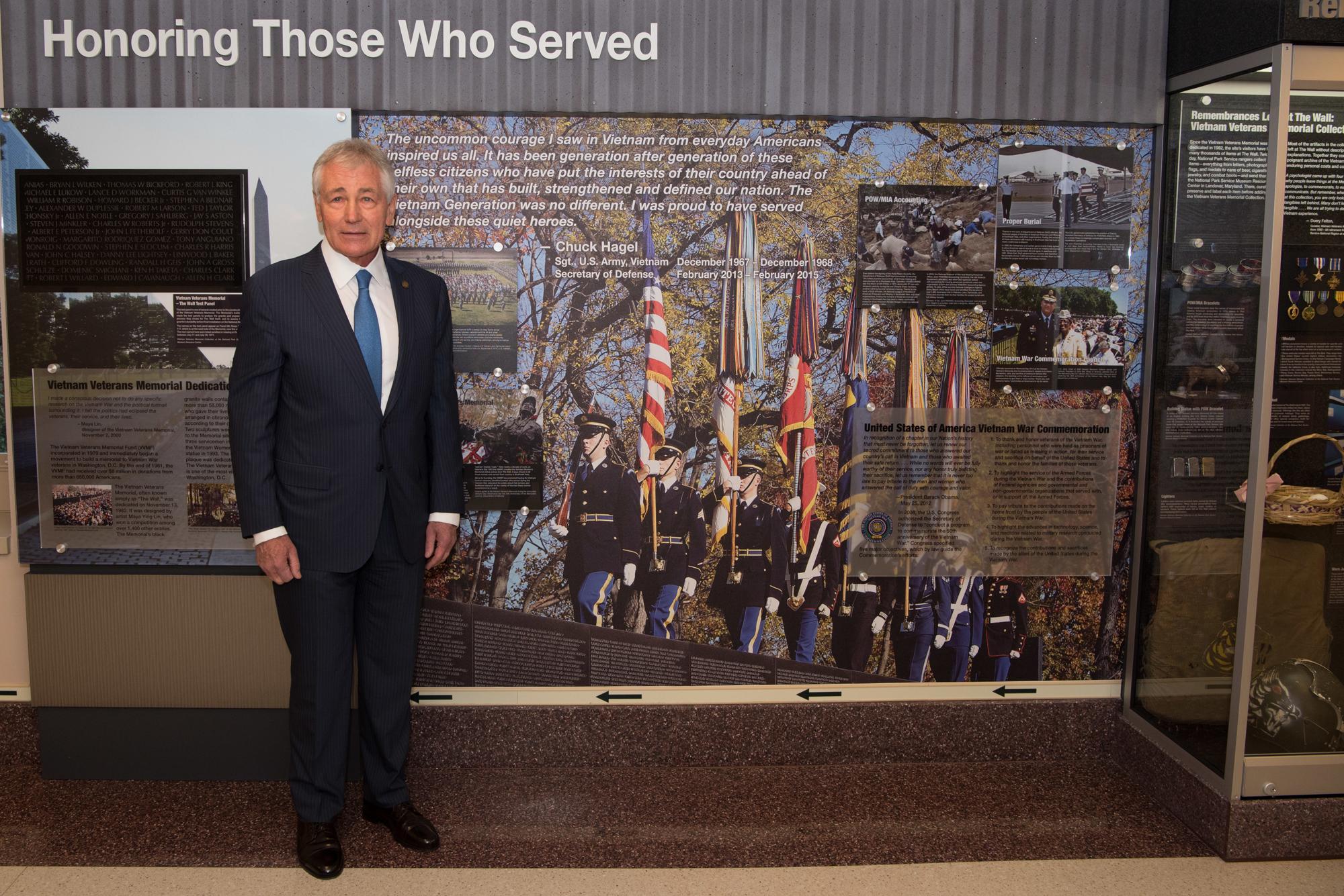 Ngũ Giác Đài mở hành lang triển lãm vinh danh cựu binh chiến tranh Việt Nam