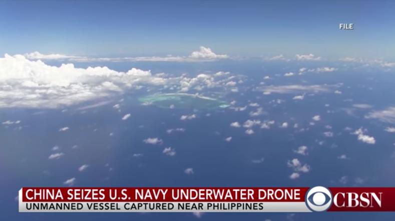 Trung Cộng đánh cắp phi cơ không người lái dưới nước của Hoa Kỳ