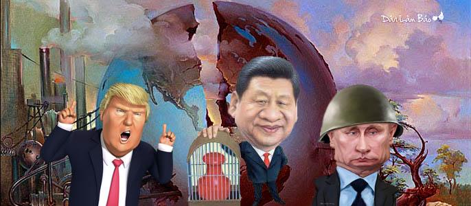 Thế giới chia ba sẻ bốn, liệu lời hứa của Donald Trump đứng vững được chăng?