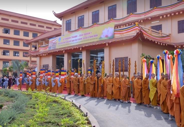 Học viện Phật Giáo Việt Nam TPHCM tuyển sinh thạc sĩ  Phật học bằng môn… triết học Mác Lênin