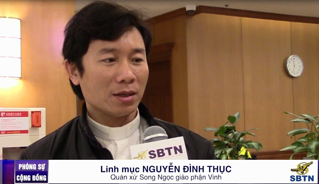 Linh mục Nguyễn Đình Thục: giáo dân Nghệ An sẽ tranh đấu đến cùng cho sự công bằng