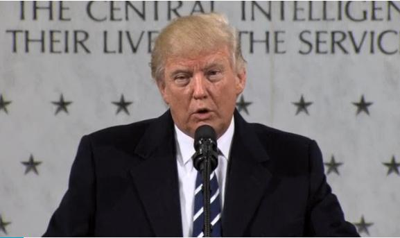 Ông Trump tuyên bố tôn trọng CIA