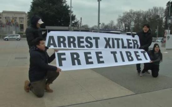 5 nhà Dân Chủ Tây Tạng bị bắt vì biểu tình chống Tập Cận Bình