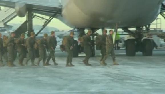 300 Thuỷ quân lục chiến Mỹ đến Na Uy, đóng cách biên giới Nga 120 dặm