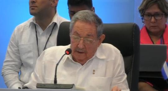 Castro nhắc Trump tôn trọng chủ quyền lãnh thổ của Cuba