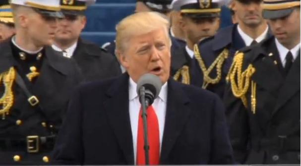 Donald Trump tuyên thệ nhậm chức tổng thống thứ 45 của Hoa Kỳ