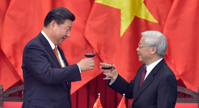 Quan hệ giữa hai đảng cộng sản sẽ khiến CSVN làm ngơ tranh chấp biển đảo