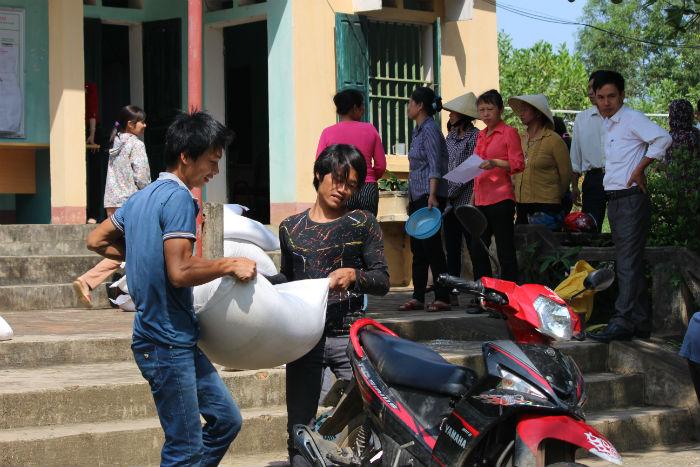15 tỉnh sẽ nhận gạo cứu đói dịp Tết Nguyên Đán