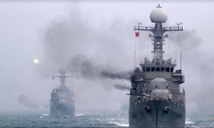 Mỹ, Nhật, Hàn tập trận hải quân chống lại mối đe dọa từ Bắc Hàn