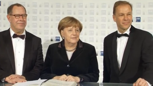 Merkel: Chiến đấu bảo vệ Thương Ước Tự Do Mậu Dịch