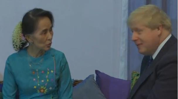 Ngoại trưởng Anh công du Myanmar