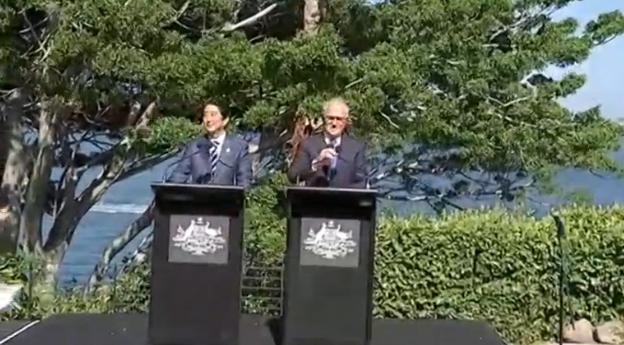 Nhật & Úc tăng cường quan hệ quốc phòng