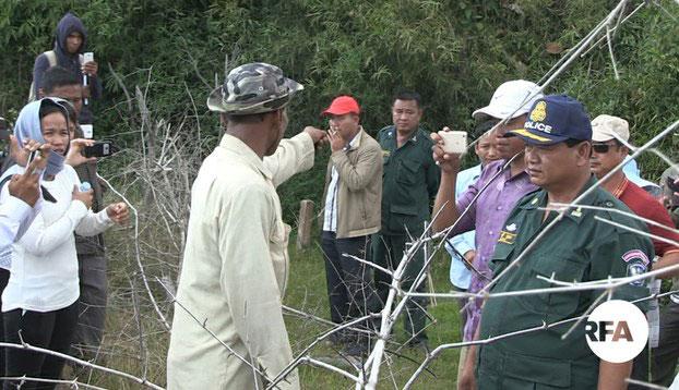 Dân Cambodia tố Việt Nam cấm họ canh tác trên đất nhà