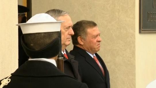 Quốc vương Jordan, lãnh đạo Ả Rập đầu tiên đến Washington thảo luận với chính phủ Trump