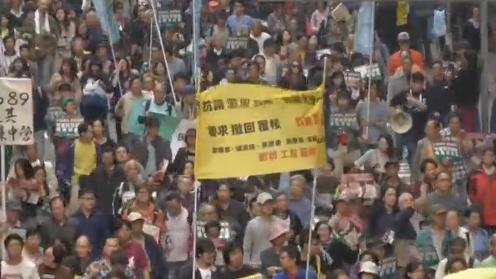 Nhà hoạt động dân chủ Joshua Wong được cảnh sát Đài Loan bảo vệ