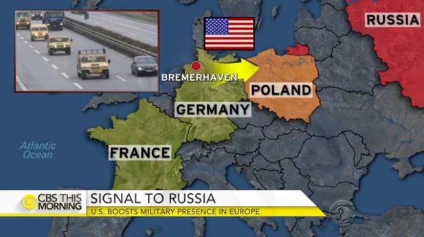 Lần đầu sau chiến tranh lạnh, xe tăng Mỹ tiến vào sân sau của Nga