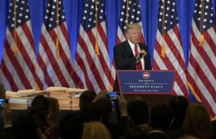 Ông Trump tuyên bố không có thoả thuận thương mại với Nga