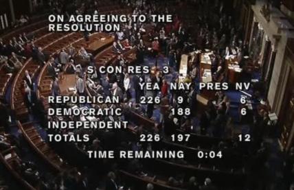 Quốc Hội Hoa Kỳ bình chọn để bắt đầu bãi bỏ Obamacare