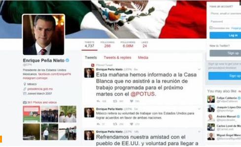 Tổng thống Mexico hủy cuộc gặp mặt với ông Trump sau tuyên bố tường biên giới