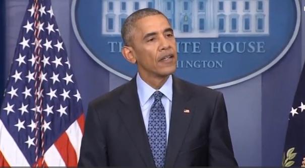 Tổng thống Obama gởi lời cầu nguyện tới gia đình Bush trong buổi họp báo cuối cùng
