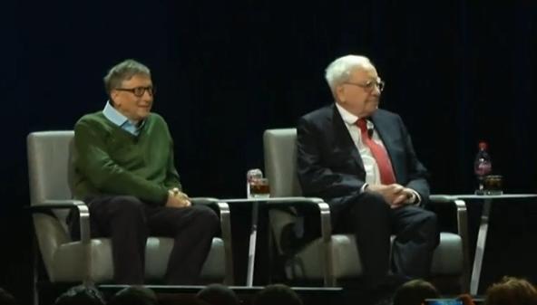 Tỷ phú Buffett và tỷ phú Gates lạc quan về tương lai của Hoa Kỳ