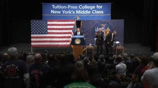 Thống đốc New York đưa ra kế hoạch miễn học phí đại học công lập