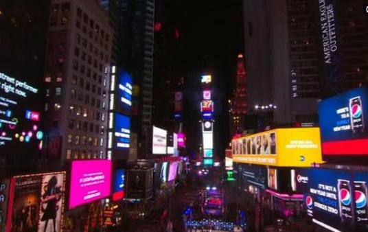 Times Square đón năm mới 2017