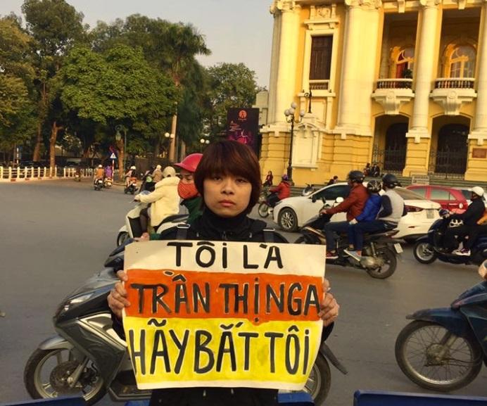 Đài Quan Sát Bảo Vệ Người Bảo Vệ Nhân Quyền lên án vụ bắt giữ bà Trần Thị Nga