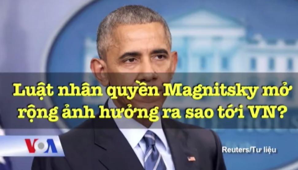 Nhân quyền VN, Luật Nhân quyền Magnitsky Toàn cầu và sự 'nổi dậy' của Vietnam Caucus (Phạm Chí Dũng)