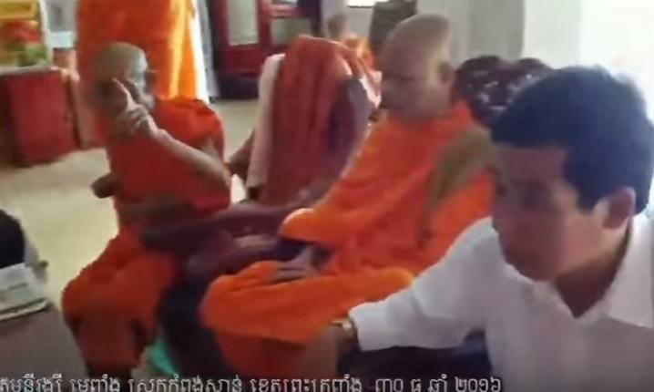Chính quyền tỉnh Trà Vinh âm mưu cướp chùa của người Khmer Krom